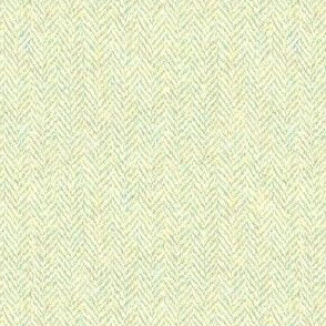 faux tweedy pale hazel herringbone tweed