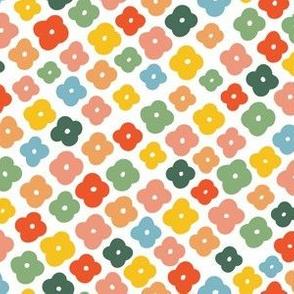 Ditsy Floral, rainbow multi