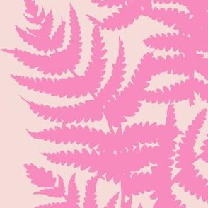 Alma // Bubblegum on Blush Pink