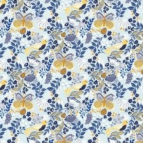 Botanic Garden-Blue Yellow V2