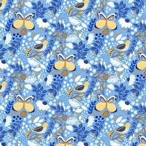 Botanic Garden-Blue Yellow