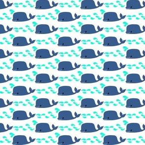 Simple Whale Tile