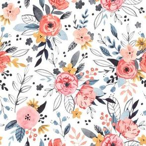 Emmaline - Vintage Floral  - Small