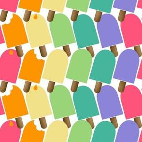 Hello Summer- Popsicles Light WHT