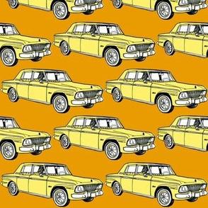 1964 1965 Studebaker Lark on orange