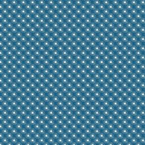 Wishing away dandelion pattern- blue