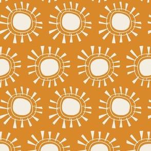 Tribal Sun   Ochre