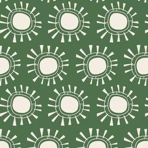 Tribal Sun | Green