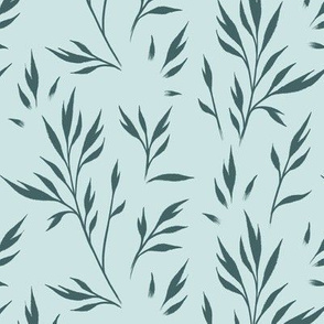 Small Leaves - Pine and Mint