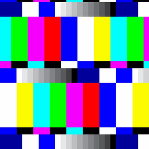 TV color test bars bright LG