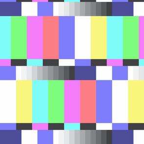 TV color test bars pastel LG