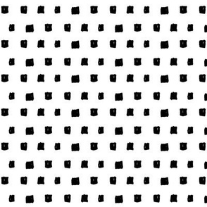 squares black and white doodled ink
