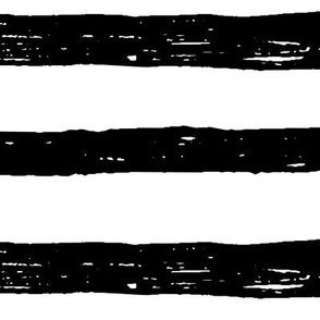JUMBO lines black and white doodled ink 500% scale