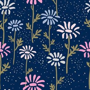ink daisies