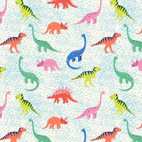 modern dinosaur/light blue/medium