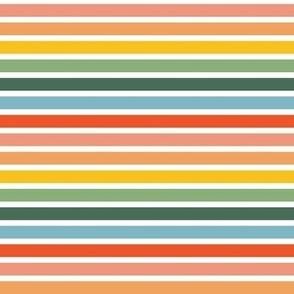 Breton Stripe Rainbow Reverse