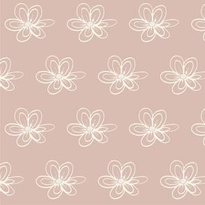 Wild Flowers- Pink Dottie Daisies