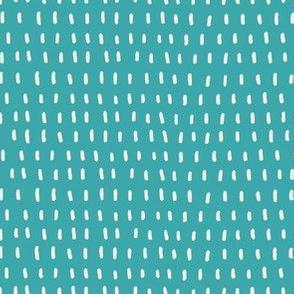 Turquoise Dash Coordinate Texture