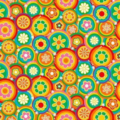 60's Funky Floral