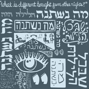 Ma Nishtana Passover graphic