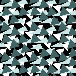 Pine and Mint Triangles