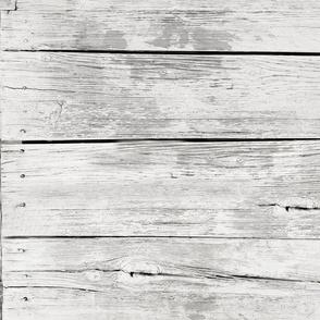 Small Weathered Wood Siding-dirty white horizontal
