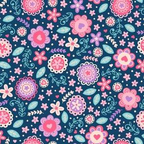 Sweet Modern Floral