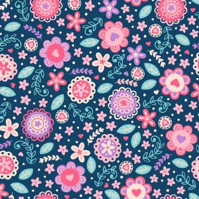 Sweet Modern Floral (Small Size)