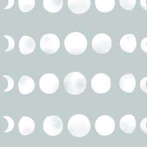 Moon phases - seafoam