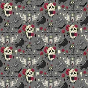 creepy cursed halloween – medium scale