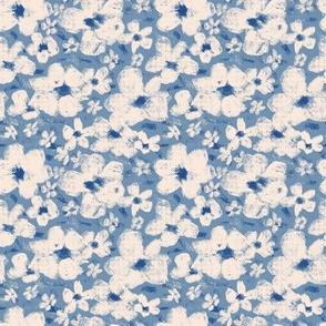Spring blossom // blue