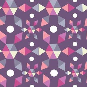 Diamond Nugget Purple