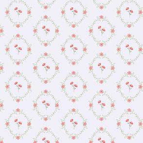 Hailles Bouquet - Purple Lacy Daisy