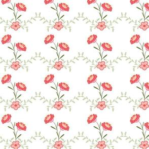 Hailles Bouquet - White Lacy Vine