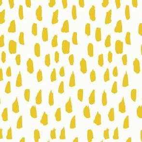 Lemondrop // Goldenrod on Almost White