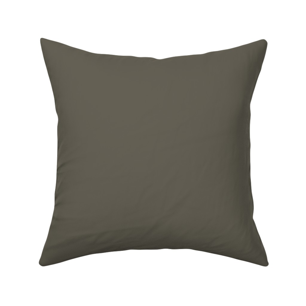 Catalan Throw Pillow featuring rikyunezumi fabric -  greyish dark green fabric, japanese colors fabric, colors of japan, traditional japanese colors fabric by andrea_lauren
