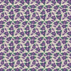 Sweet Violette Purple Violets Floral