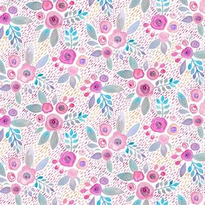 Gabrielle_Cave_Watercolour_Ditsy_Dash_Pink