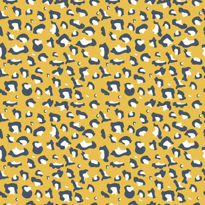 Mustard Cheetah Print
