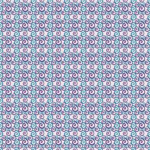 Blue and Purple Swirls