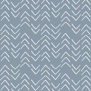 mudcloth fabric - boho nursery fabric, mudcloth design, african mudcloth fabric, baby bedding fabric -  denim sfx4013