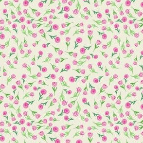 Ditsy Floral-Pink