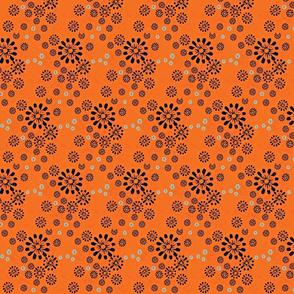 ditzy floral scatter/half brick