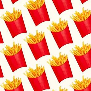 Fries Patterns 2 - White