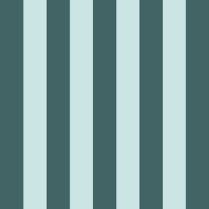 pine and mint even wide stripe