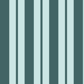 pine and mint variable stripe - large