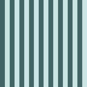 pine and mint even medium stripe