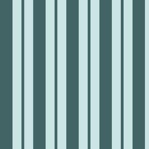 pine and mint variable stripe - medium