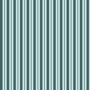 pine and mint variable stripe - small