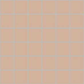 grid- clay and blue grey